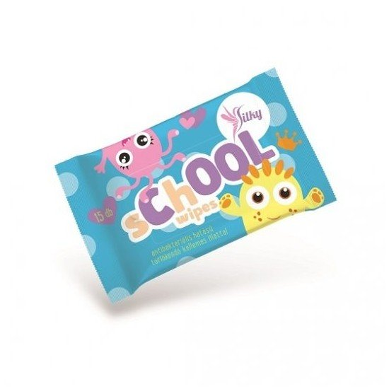 Lingettes silky ecole...