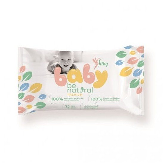 Lingettes silky baby...
